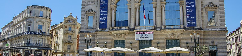 camping proche Opéra Comédie en Montpellier