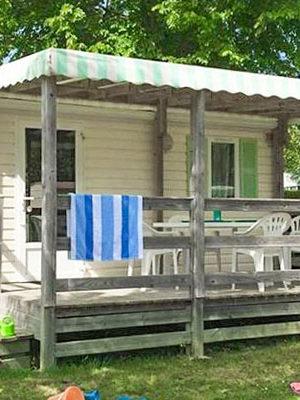 mobil home Encierro en location herault