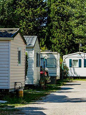 mobil home camping mas de l´isle