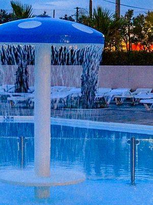 piscine camping herault
