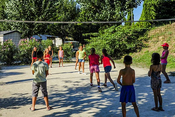 volley ball camping lunel