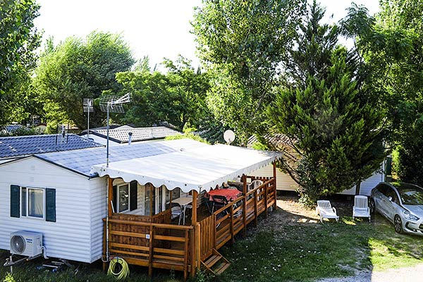 mobile home for rent camping lunel