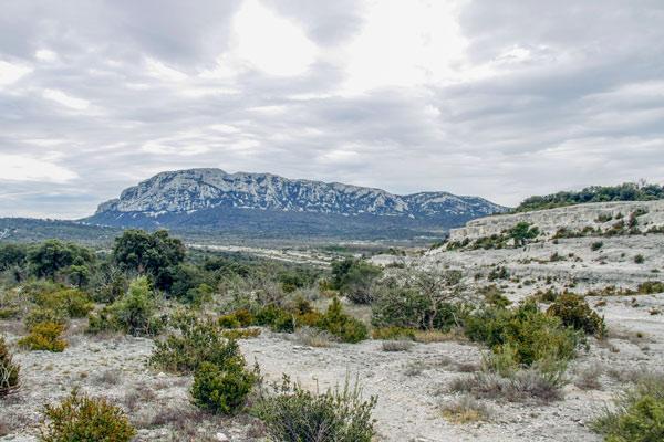campsite near pic-saint-loup